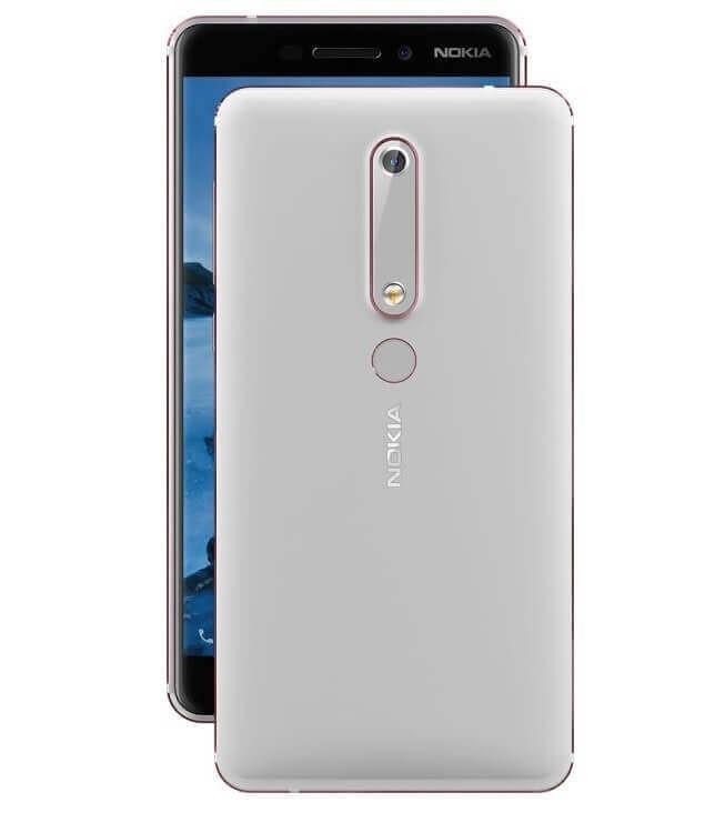 Nokia 6.1 Dual Sim TA-1068 64GB White
