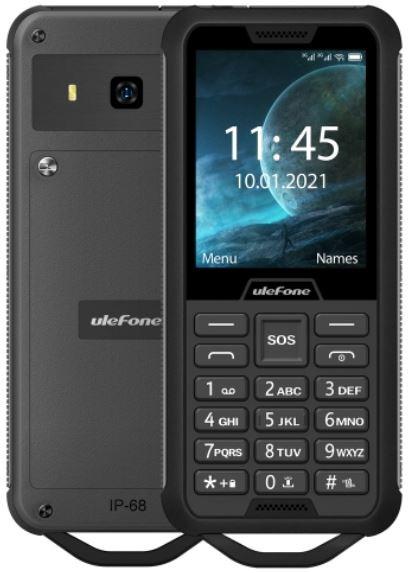 Ulefone Armor Mini 2 Dual Sim Rugged Phone 32MB Black (32MB RAM)