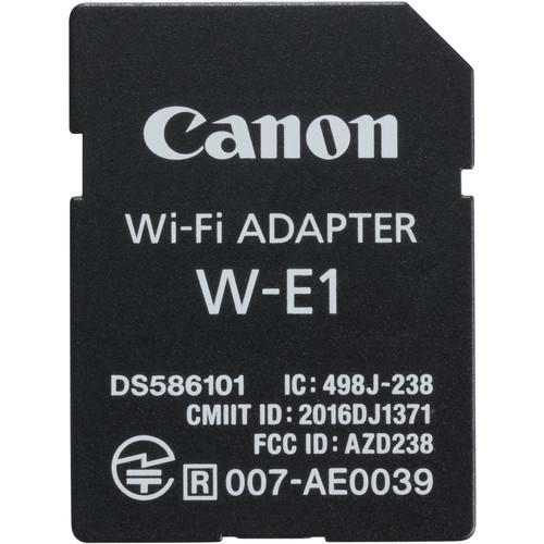 Canon W-E1 Wi-Fi Adaptor (White Box)