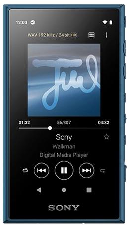 Sony NW-A105 Walkman MP3 Player (Blue)