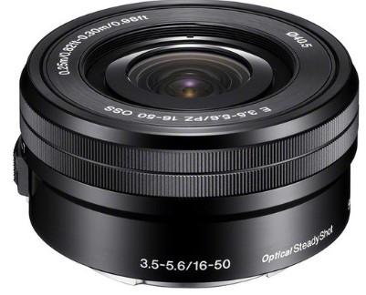 Sony E16-50mm F3.5-5.6 PZ OSS Black (SELP1650B)(White box)