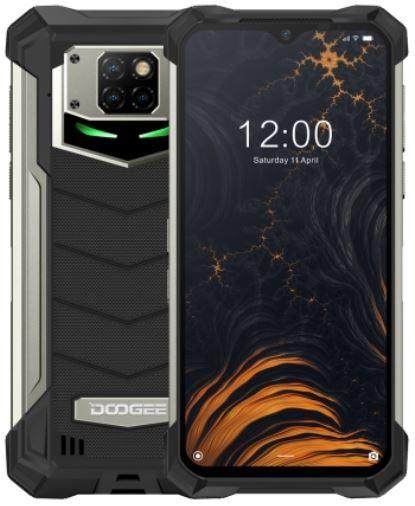 DOOGEE S88 Plus Dual Sim Rugged Phone 128GB Black (8GB RAM)