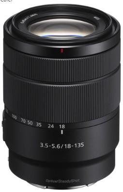 Sony E 18-135mm F3.5-5.6 OSS (SEL18135) (White box)