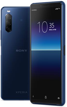 Sony Xperia 10 II XQ-AU52 Dual Sim 128GB Blue (4GB RAM)