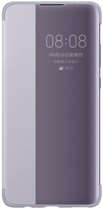 Huawei Mate 30 Smart View Flip Cover Purple