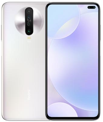 Xiaomi Redmi K30i 5G Dual Sim 128GB White (6GB RAM) + FREE Redmi 10,000Mah Powerbank + Mi Smart Band 4C Black