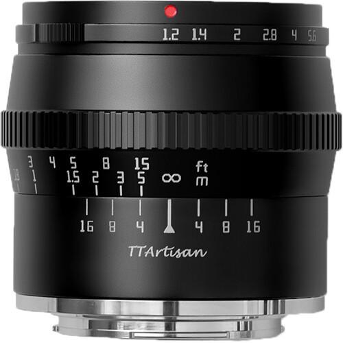 TTArtisan 50mm F1.2 APS-C (Canon M)