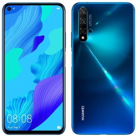 Huawei Nova 5T Dual Sim 128GB Blue (8GB RAM)