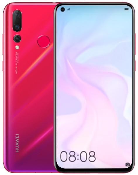 Huawei Nova 4 20MP Dual Sim 128GB Red (8GB RAM)