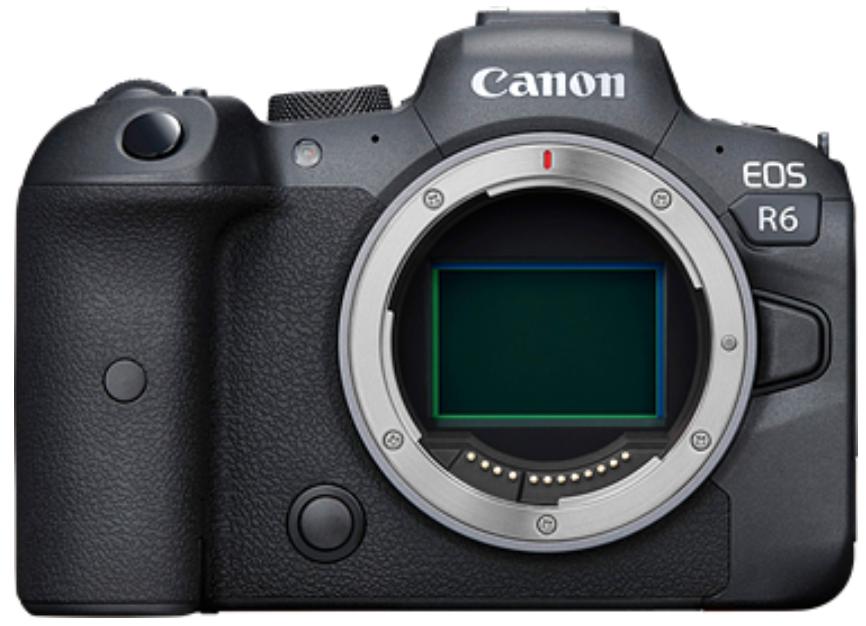 Canon EOS R6 Body (no adapter)