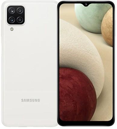 Samsung Galaxy A12 Dual Sim A125FD 128GB White (4GB RAM)