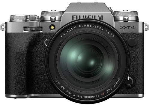 Fujifilm X-T4 16-80 Silver (Kit Box)