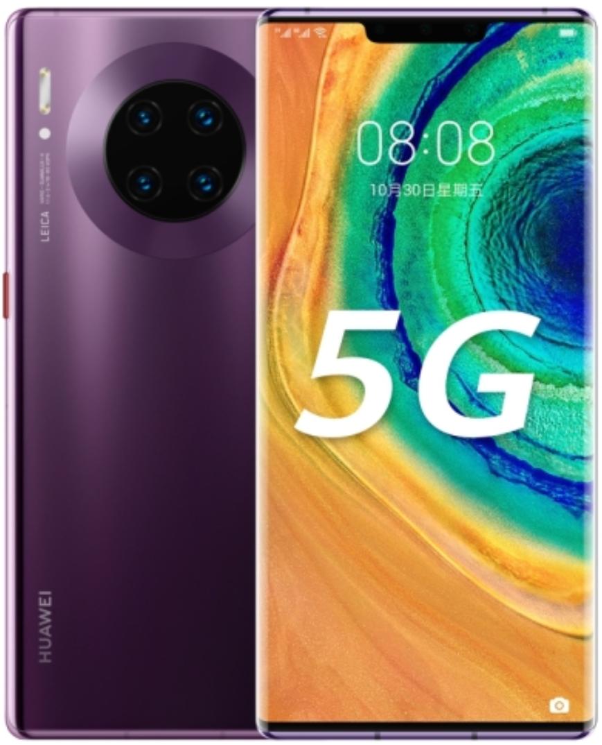 Huawei Mate 30E Pro 5G Dual Sim LIO-AN00m 128GB Purple (8GB RAM)