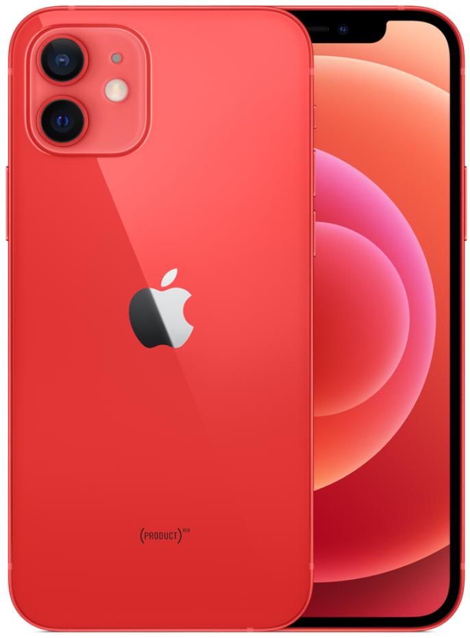 Apple iPhone 12 5G 64GB Red (eSIM)