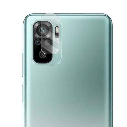 (2 pcs/Set) mocolo 0.15mm 9H 2.5D Round Edge Rear Camera Lens Tempered Glass Film for Xiaomi Redmi Note 10
