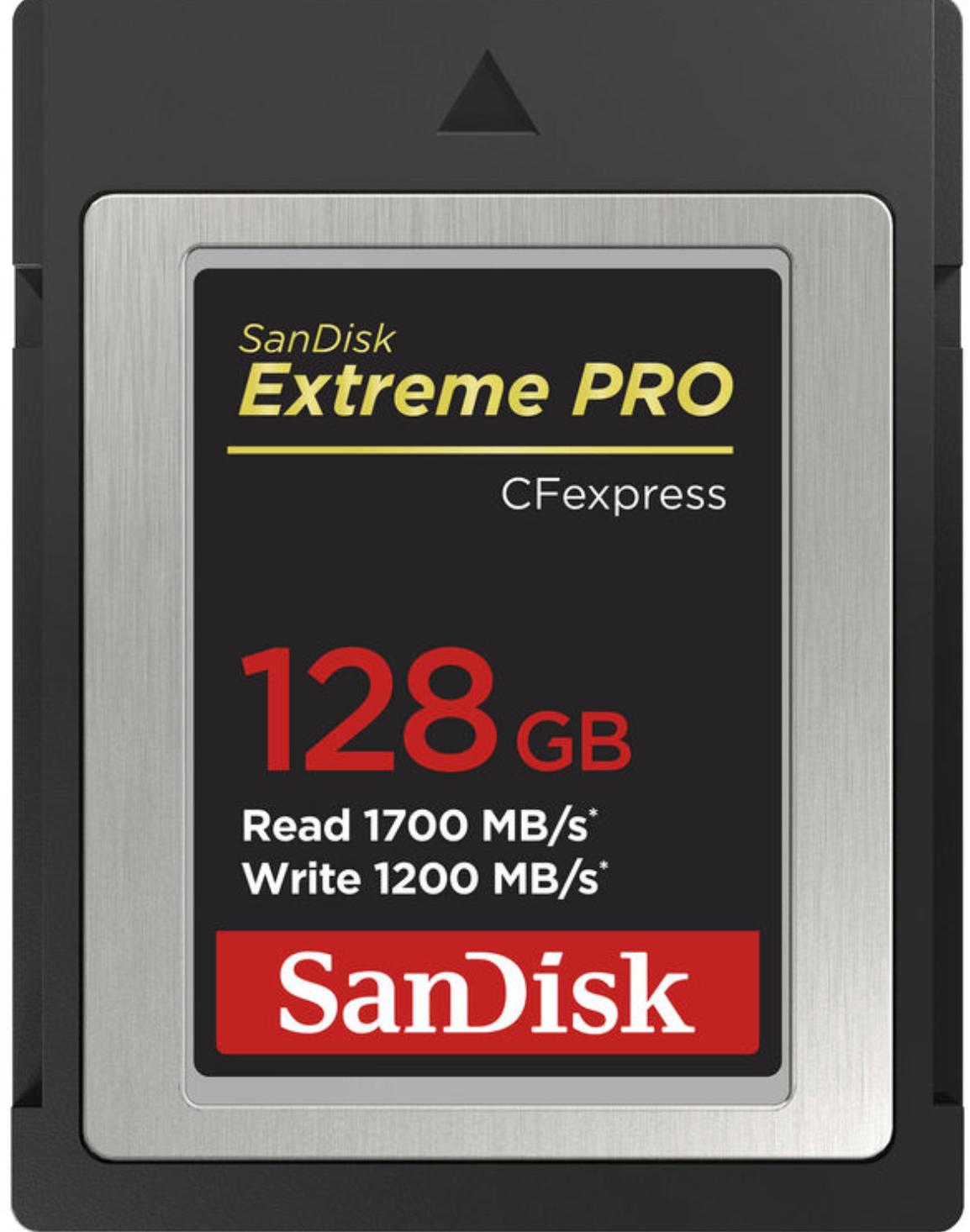 Sandisk 128GB Extreme Pro CFexpress Type B