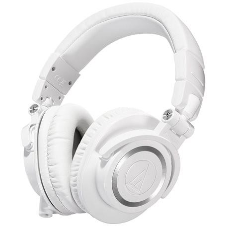 Audio-Technica ATH-M50x Over Ear Headphones White