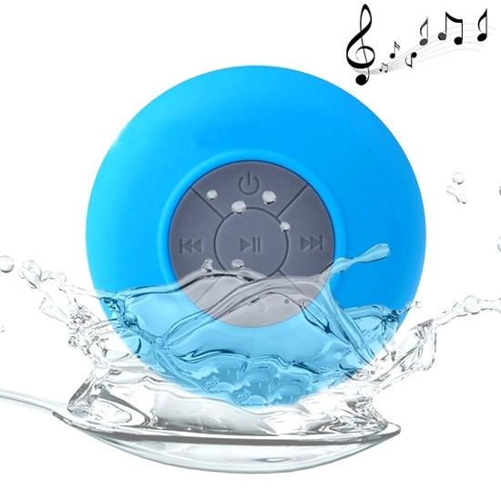 BTS-06 Mini Waterproof IPX4 Bluetooth V2.1 Speaker (Blue)