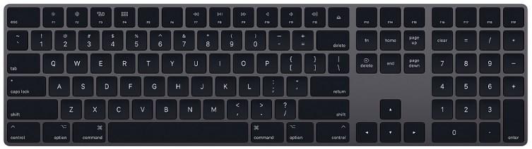 Apple Magic Keyboard with Numeric Keypad - US English - Space Grey