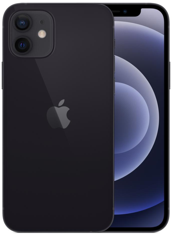 Apple iPhone 12 5G A2404 Dual Sim 256GB Black