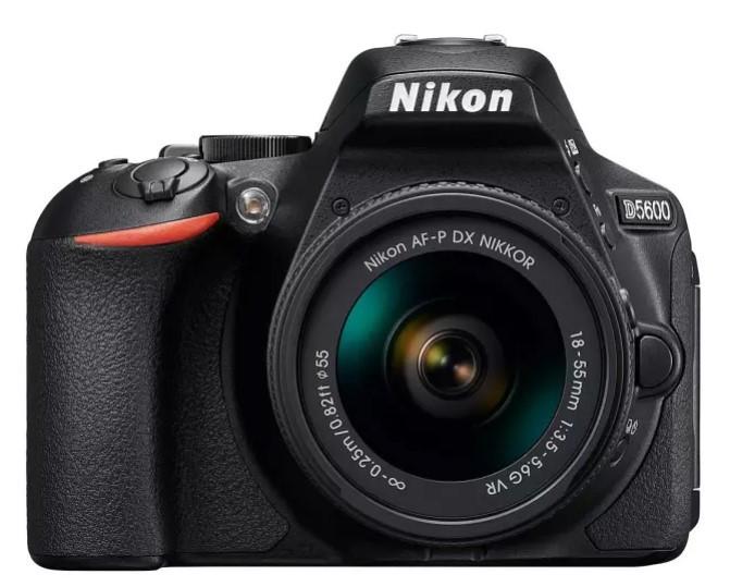 Nikon D5600 Kit (NIKKOR 18-55mm f/3.5-5.6G VR)