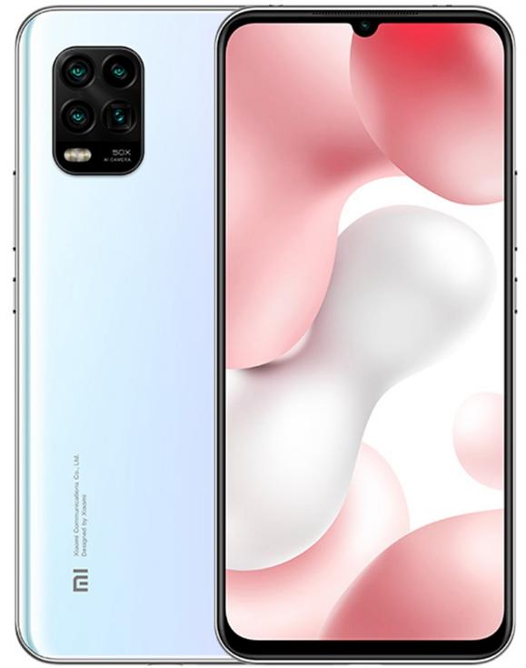 Xiaomi Mi 10 Lite 5G Dual Sim 128GB White (6GB RAM) - Global Version
