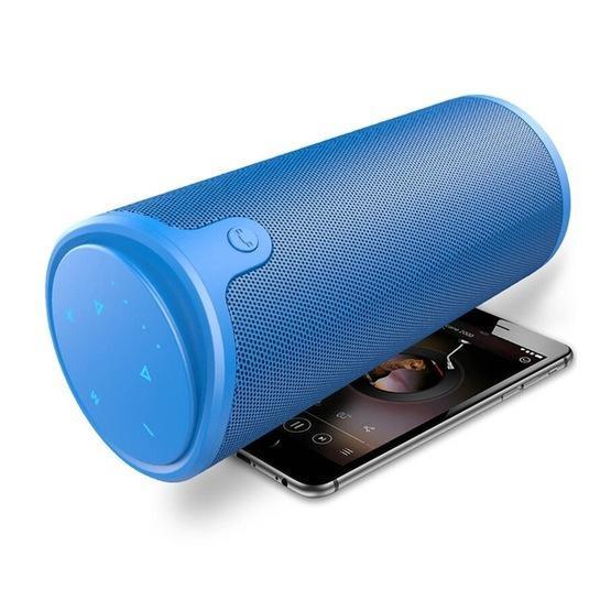 ZEALOT S8 3D Stereo Bluetooth Speaker Wireless Subwoofer (Blue)