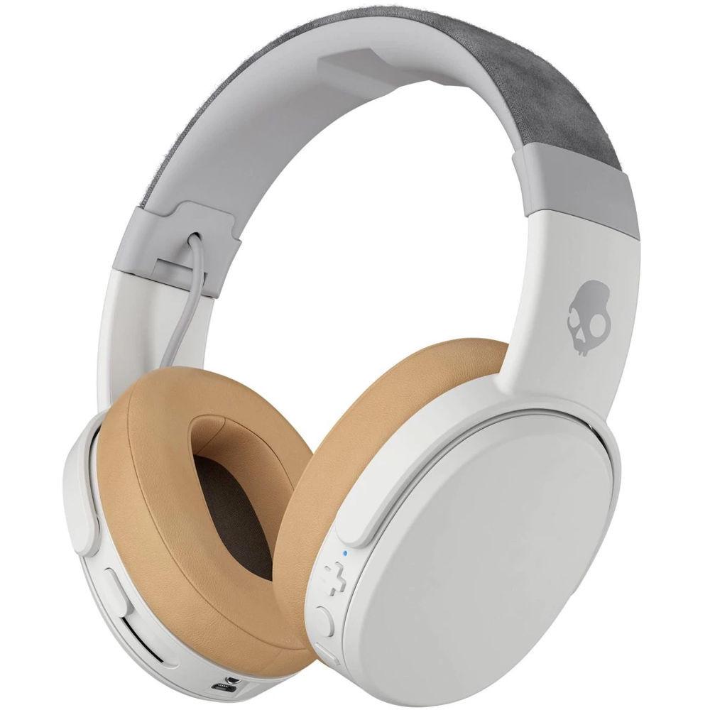 SkullCandy Crusher Wireless Over-Ear Headphones White