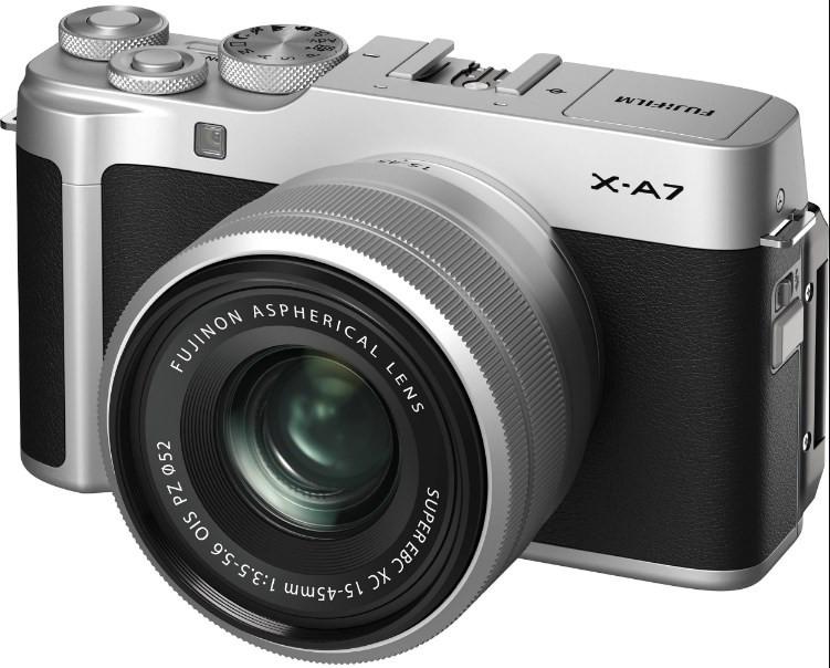Fujifilm X-A7 kit (15-45) Silver
