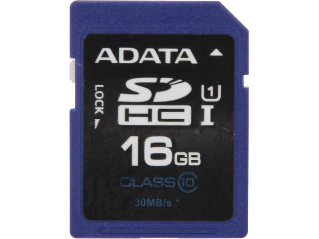 A Data 16GB SDHC (Class 10)