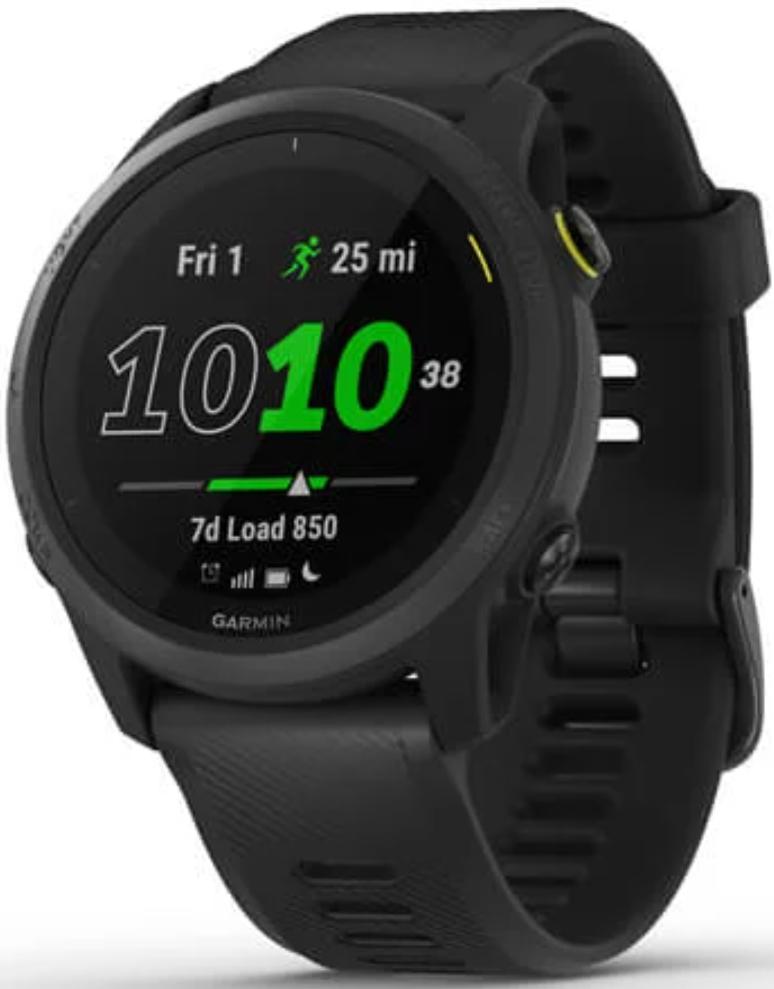 Garmin Forerunner 745 GPS Running Watch Black