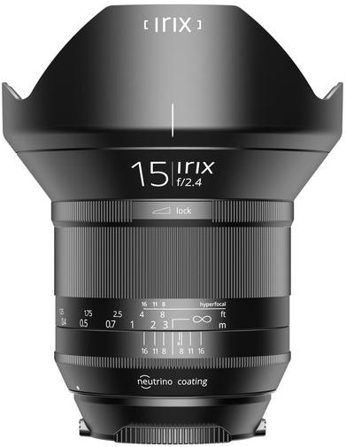 Irix Lens 15mm F/2.4 Blackstone (Canon)