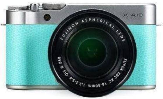 Fujifilm X-A10 Kit (16-50) Lime