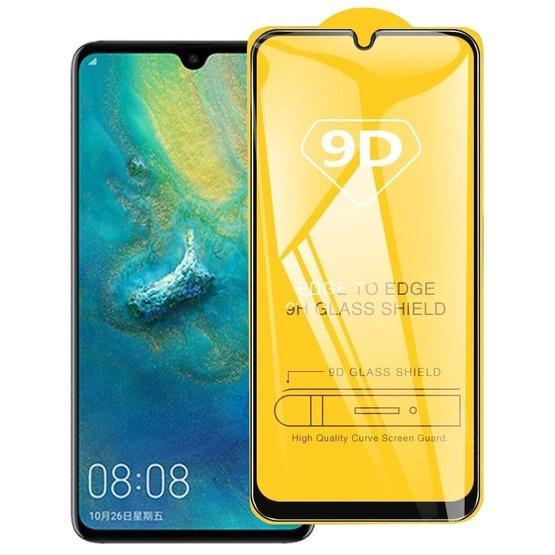 For Huawei Nova 5T 9D Full Glue Full Screen Tempered Glass Film