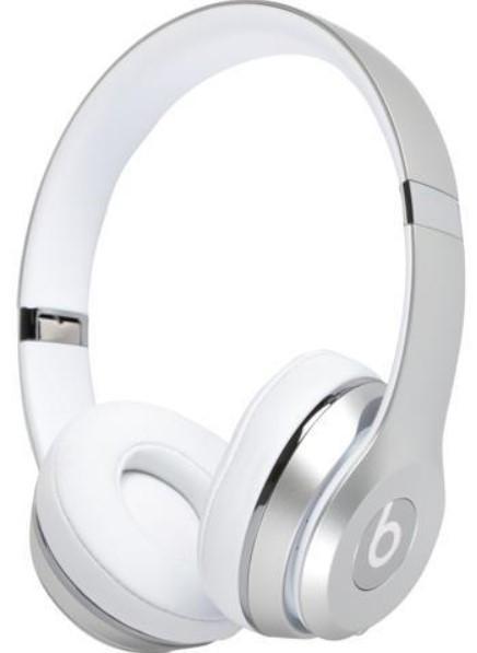 Beats Solo 3 Wireless Headphone Silver