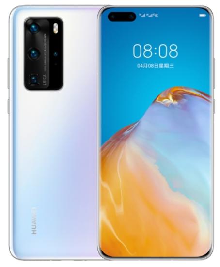 Huawei P40 Pro ELS-AN00 Dual Sim 512GB White (8GB RAM)