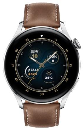 Huawei Watch 3 46mm GLL-AL00 Fashion Brown Leather Strap