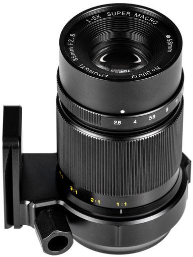 Zhongyi Mitakon 85mm f/2.8 1-5x (EOS-M)