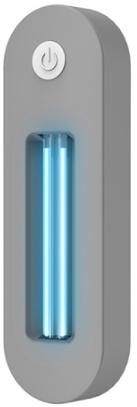 Portable Toilet UV LED Light Sterilizer Disinfection Stick Lamp (USB)(Grey)