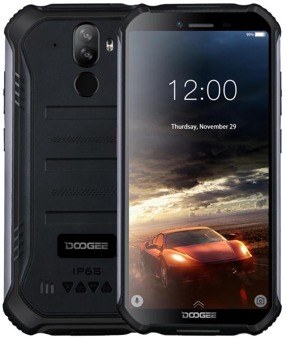 Doogee S40 Rugged Phone Dual Sim 16GB Black (2GB RAM)