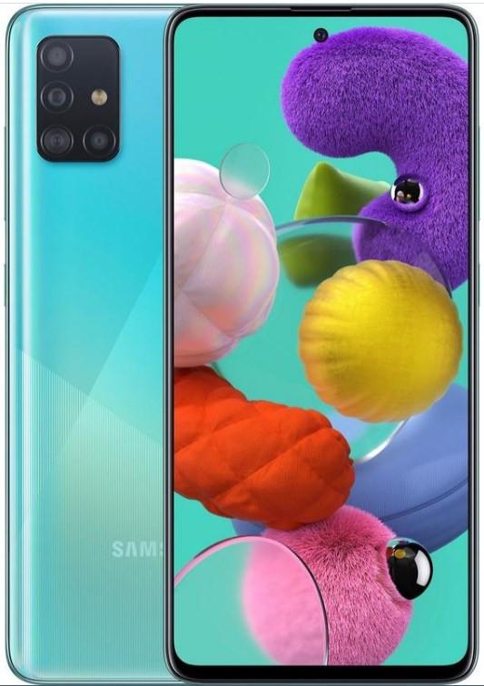 Samsung Galaxy A51 Dual A515FD 128GB Blue (6GB RAM)