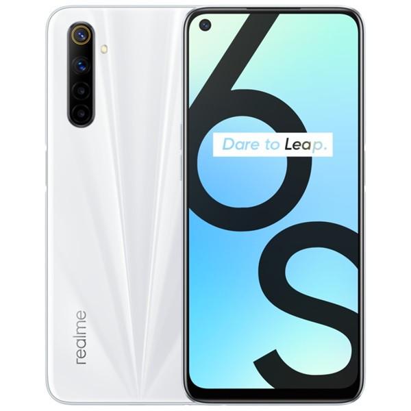 Realme 6S Dual Sim 128GB White (6GB RAM)