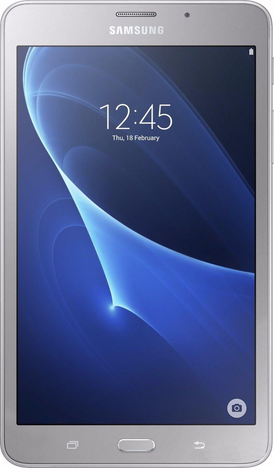"Samsung Galaxy Tab A 7""(2016) T285 LTE 8GB Silver + FREE Samsung Tab A 7 Book Cover"