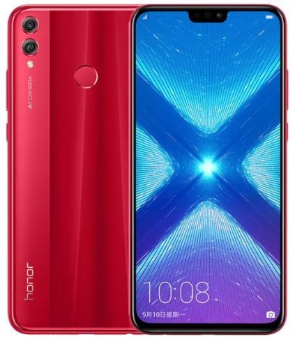 Honor 8X Dual Sim 64GB Red (4GB RAM)