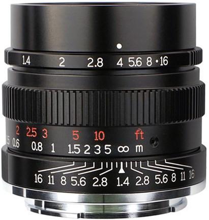 7Artisans 35mm f1.4 Lens (Sony E) Black (A114B)