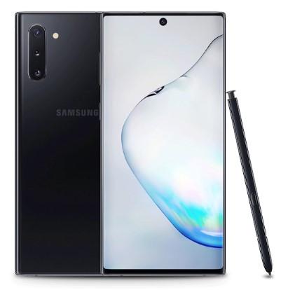 Samsung Galaxy Note 10 Dual Sim N970FD 256GB Black (8GB RAM) + FREE Samsung Note 10 Clearview Phone Cover