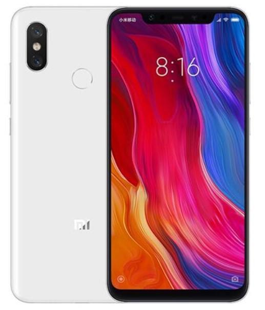 Xiaomi Mi 8 Dual Sim 256GB White (6GB RAM)