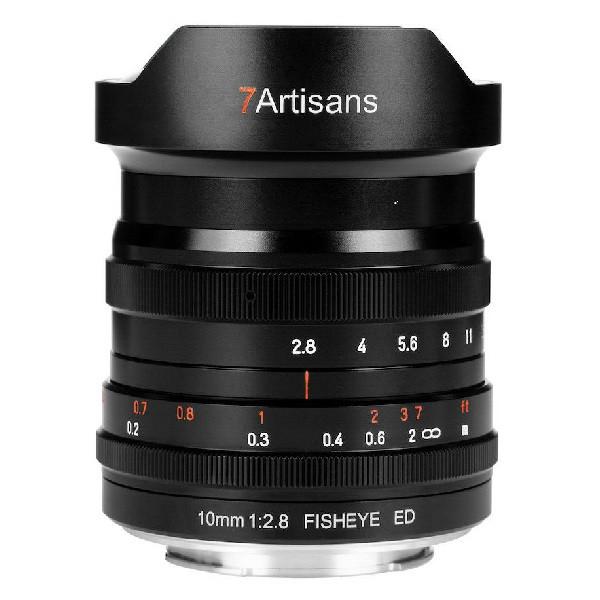 7Artisans 10mm f/2.8 Fisheye (Canon R)