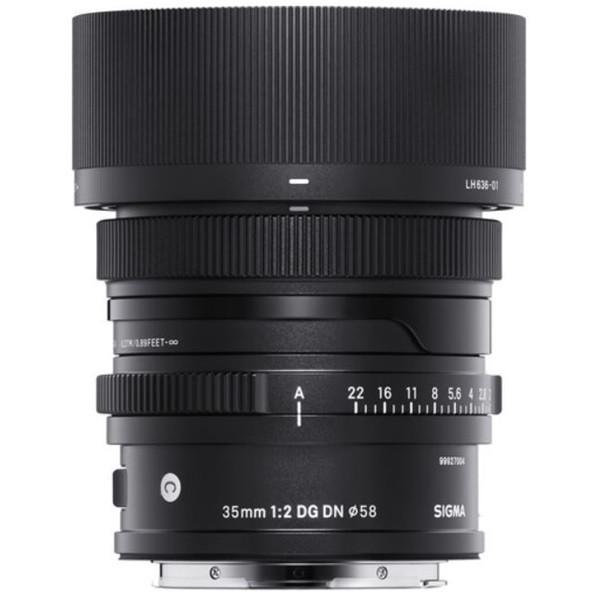 Sigma 35mm F2.0 DG DN | Contemporary (Leica L)