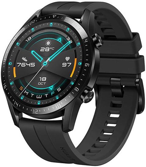 Huawei Watch GT 2 46mm Matte Black Sport Version (SpO2) - CN version